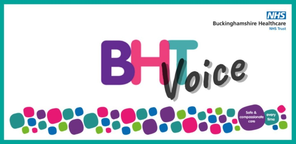 BHT Voice enewsletter masthead