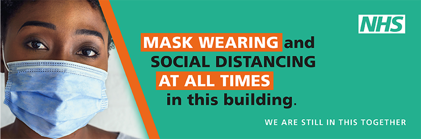 Mask wearing and social distancing are required at all times